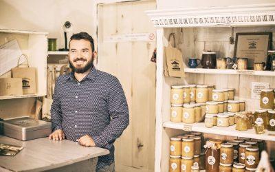 Obchodík s výrobkami od miestnych výrobcov