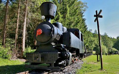 Čiernohronská železnica - skanzen Vydrovo